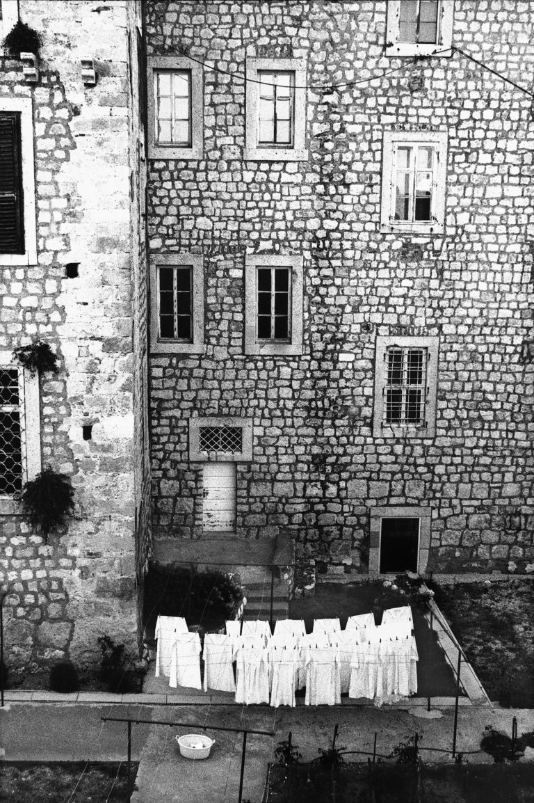 Dubrovnik, analog photography, black & white, after war, 1994
