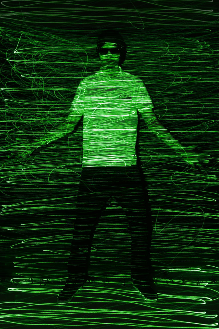Light Painting, long exposure photography, laser