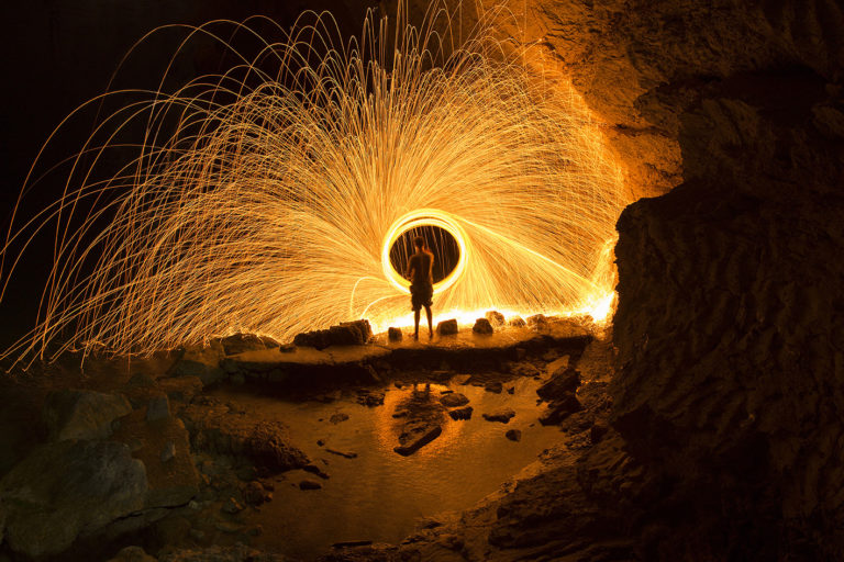 Light Painting, long exposure photography, night photography