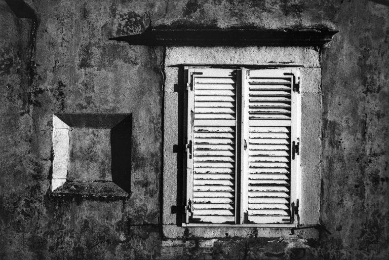Dubrovnik, analog photography, black & white, after war, 1994