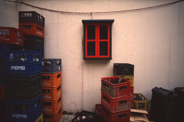 Croatian windows, analog photography